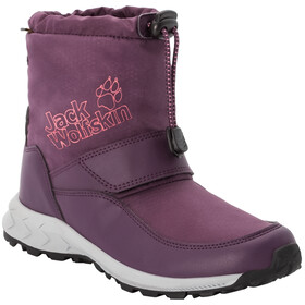 Jack Wolfskin Woodland Texapore WT VC Mid Shoes Kids purple/coral